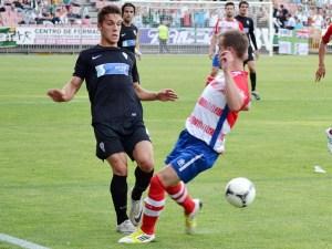 El Córdoba B perdió por la mínima en Granada donde jugó muchos minutos con nueve jugadores