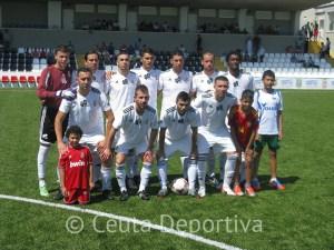 Formación del Atlético de Ceuta 'B'