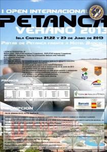 Reproducción del cartel del torneo de Isla Cristina