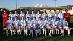 El Málaga CF ganó la fase andaluza celebrada en Loja donde superó al Sevilla por penaltis