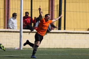 Juan Llaves marcó 7 goles en 14 partidos con el Murallas de Ceuta