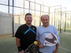 La pareja Pedraza - Anta, una de las semifinalistas del torneo