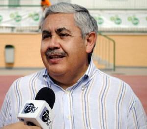 Antonio Rosales, presidente de la Federación Andaluza de Balonmano