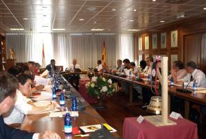 La reunión se celebró el jueves en la sede de la RFEF