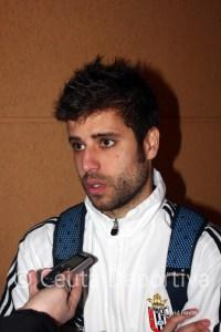 Félix empezó la pretemporada con el Marbella, aunque aún no está recuperado de la lesión que sufrió en Ceuta