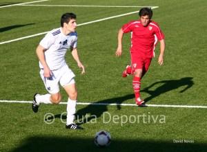 Jaime, un valor seguro en la defensa de la AD Ceuta FC