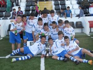 El CD Puerto Disa se proclamó campeón de la Liga local el último curso