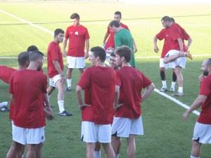 El técnico coriano dio minutos a todos sus jugadores ante el Ceutí de Liga Nacional