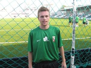 Aitor se ha incorporado esta semana a los entrenamientos de la AD Ceuta FC