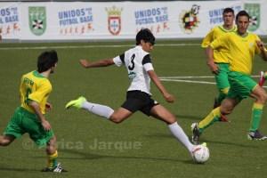 Yunes fue indiscutible en las alineaciones del Ceutí la temporada pasada en su primer año de juvenil