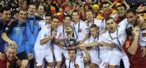 La selección española de fútbol sala es dos veces campeona del Mundo y seis veces campeona de Europa