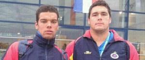 Vicente Matoso y Paco Molina compartieron equipo el año pasado en el Europeo de Francia