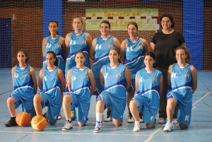 Las chicas del nuevo UB Ceuta intentarán hacer un buen papel en la Copa Andalucía A junior