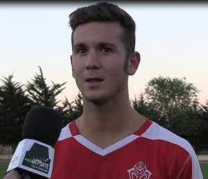 Alex Hernández es un joven jugador que tendrá ficha sub'23 en la AD Ceuta FC