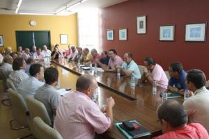 Los clubes expresaron en la reunión su gran malestar por el calendario elaborado por la FAF