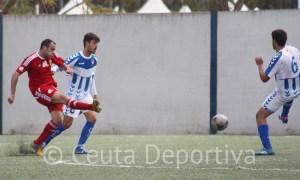 Sánchez Rincón le pitó al Ceuta por última vez la pasada campaña en Huelva donde derrotó al Recre B por 1-4