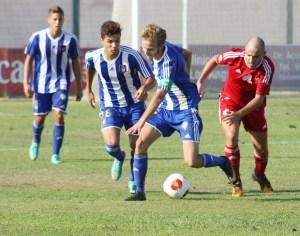 La AD Ceuta FC ganó al Recreativo B por 2-4 en el primer desplazamiento de la temporada