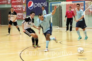 Una imagen del UA Ceutí FS - El Ejido Fs de la temporada pasada
