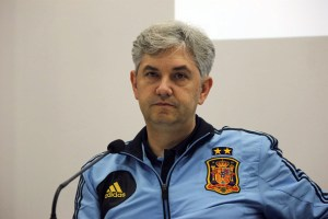 José Venancio López, seleccionador nacional de fútbol sala, visita este jueves Ceuta
