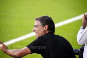 Juanma Alamillos, durante uno de los partidos disputados por el Ceutí en el triangular del pasado sábado