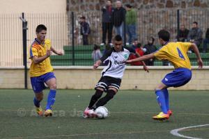 El habilidoso mediapunta con la camiseta de la selección de Ceuta juvenil