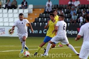 Asián cubrió la baja de Ismael con Andrés Salas que jugó por delante de la defensa