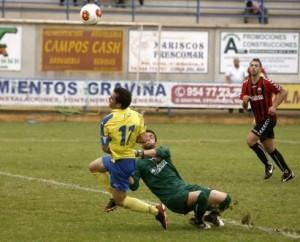 El Coria empató a dos goles ante el Cabecense en el Guadalquivir en la última jornada