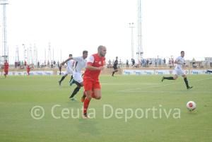 Antonio Prieto, pichichi del grupo con 6 tantos, una de las bazas ofensivas del Ceuta
