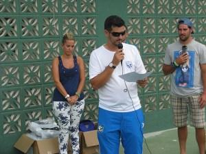 Yasin Mohamed es el organizador del torneo que se disputará el fin de semana del 18 al 20 de octubre