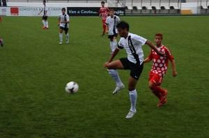 El Recre B visitó el estadio en la primera jornada y empató a uno con el Ceutí