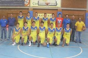 Plantilla del CB Juventud que participa esta temporada en la Copa Andalucía A