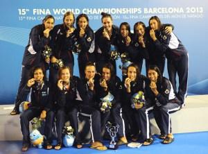 La selección española femenina conquistó el oro en el Mundial de Barcelona celebrado en agosto