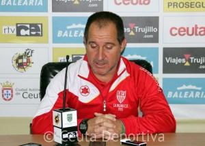 Manuel Jesús Leal 'Kiki', entrenador de La Palma CF