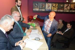 El sorteo se ha celebrado en la sede de la Real Federación Española de Fútbol. Foto: RFEF