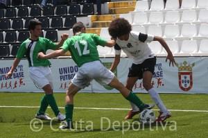 Chakir, que la pasada temporada jugó con el Ceutí en Liga Nacional, es uno de los 18 futbolistas convocados por Hicham