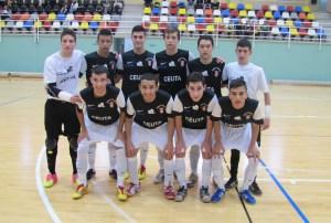 El Ciudad de Ceuta FS ha sufrido el primer revés de la temporada