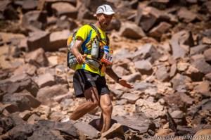 Ismael Dris, en el Maratón de Las Arenas de 2012, en el que terminó undécimo