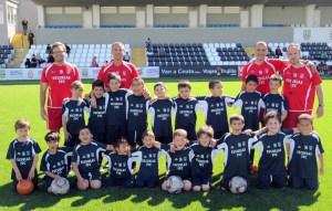 Los entrenadores de la Escuela de Fútbol de la FFC van a visitar distintos centros escolares de la ciudad