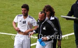 Félix se lesionó de gravedad el 17 de marzo ante el Algeciras en el Alfonso Murube