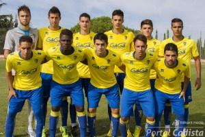 El Cádiz B está realizando una notable campaña y es quinto con 30 puntos, los mismos que el cuarto clasificado