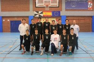 Equipo cadete masculino que participará en el Nacional de Cáceres del 3 al 6 de enero