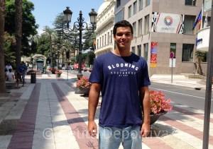 Vicente Matoso está rindiendo a un buen nivel en el CN Sabadell