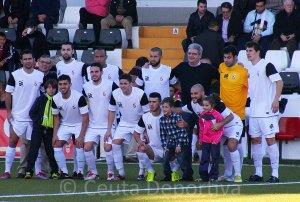 La AD Ceuta FC ha encadenado diez jornadas sin derrotas