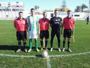 Baena Acal pitó recientemente la derrota del Ceutí de Liga Nacional ante el Atlético Sanluqueño