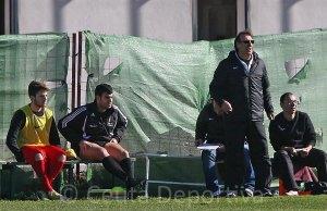 José Antonio Asián, el domingo en la Ciudad Deportiva del Real Betis