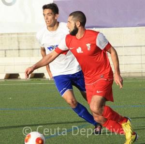 El Ceuta jugó a un buen nivel en el Ciudad de Alcalá donde acarició la victoria