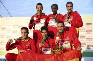 Marhum acabó sexto en el Europeo de cross de Belgrado y consiguió la medalla de oro por equipos
