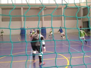 La selección andaluza ha preparado el sector en el pabellón municipal de Doña Mencía