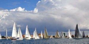 La primera prueba del campeonato se tuvo que suspender por la falta de viento