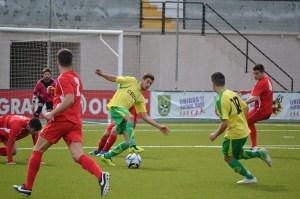 El Goyu perdió ante el Sevilla B el primer partido de la temporada en casa